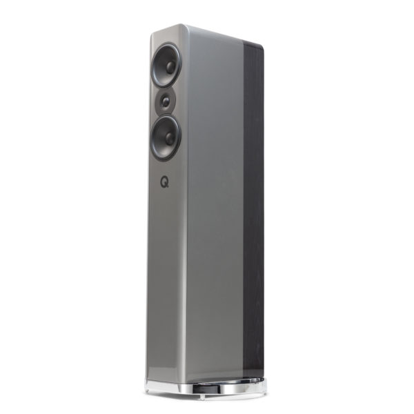 Q Acoustics Concept 500 in silver/ebony